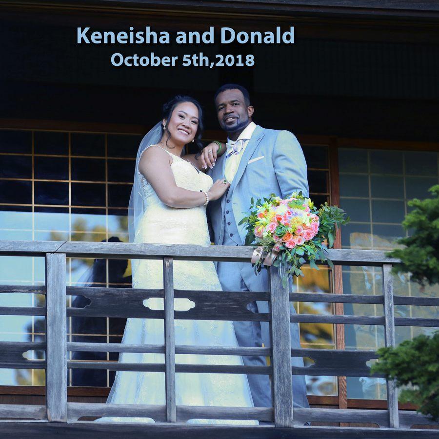 Keneisha wedding album 001 (Side 1)